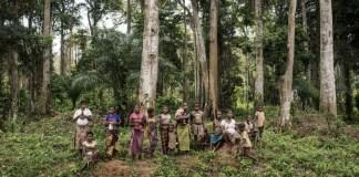 UNICEF, Vincent Tremeau: Aldea indígena en una zona de bosques de la República Democrática del Congo