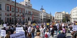 Marea Blanca Puerta del Sol 17ABR2021 © CCOO