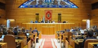 Parlamento de Galicia: declaración institucional sobre el Sáhara Occidental, 28ABR2021