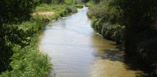 Río Guadarrama en Madrid riberas