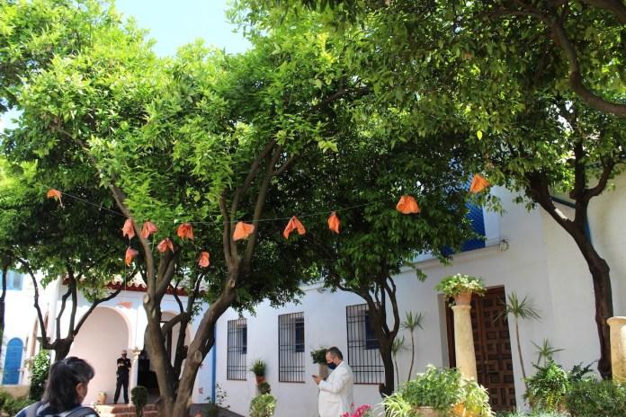 JC Santana: Córdoba, Patios, mariposa Monarca de Lucila Veloz