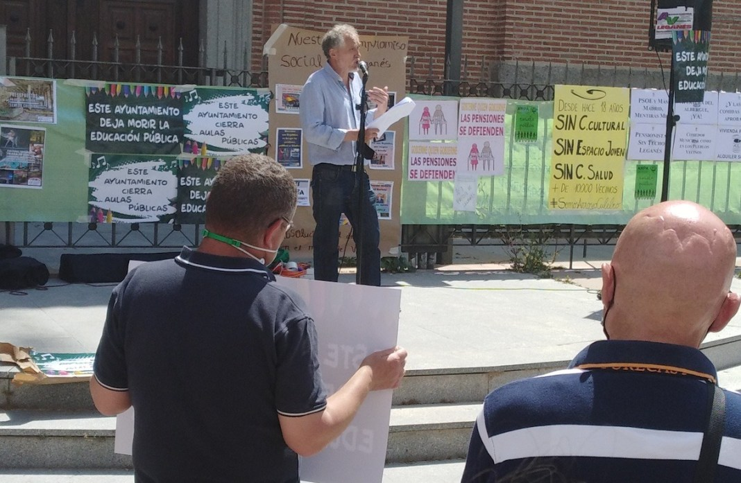 Leganés protestas vecinos 30MAY2021