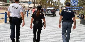 Comisarías europeas patrulla Alicante