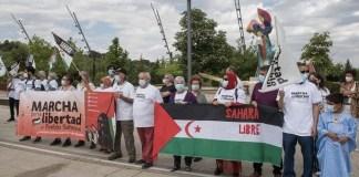 Valladolid Marcha libertad Sahara libre 14JUN2021