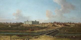Antonio Joli: vista del Palacio Real desde el Manzanares