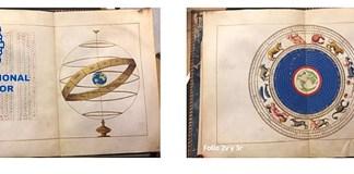 BNE Portulano Agnese folios uno al cuatro