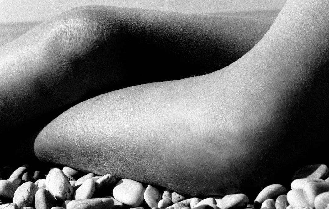 Brandt: desnudo, Baie de Anges, 1959 (detalle)