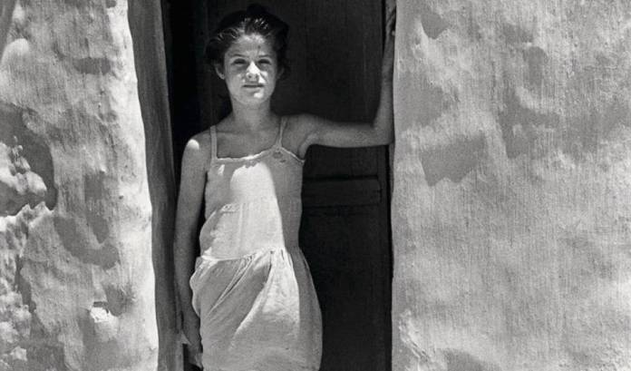 Pérez Siquier La niña blanca 1957