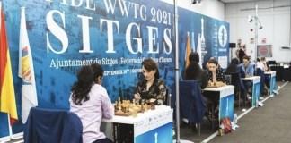 Ajedrez Sitges campeonato femenino 2021