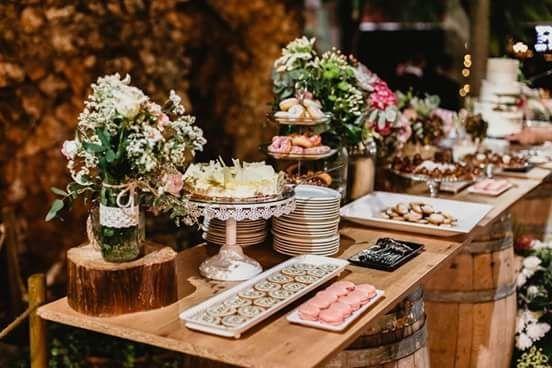 decoracion mesa dulce boda