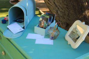 mesa libro de firmas