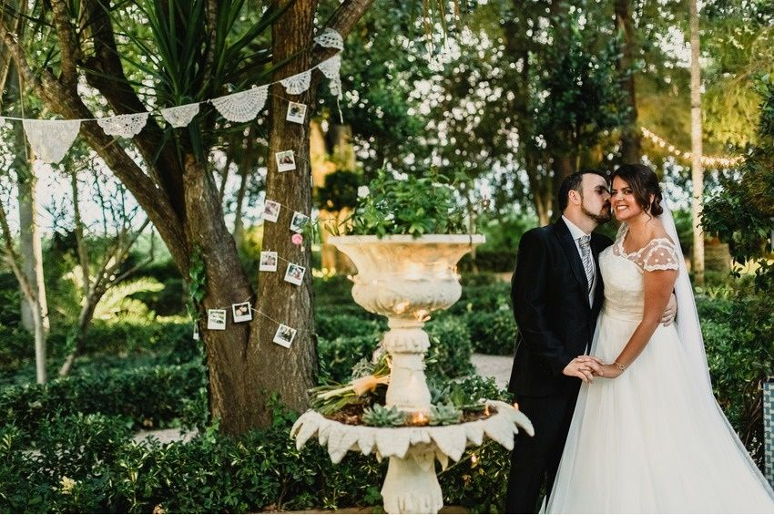 boda guirnalda ganchillo