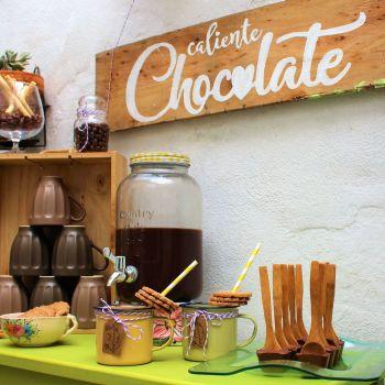 mesa chocolate caliente rincon boda