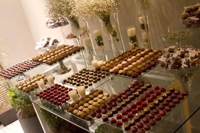 Mesa de chocolate boda