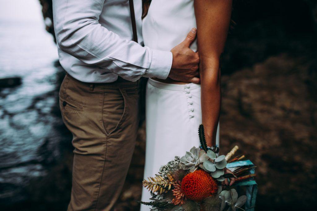 ramo novia boho