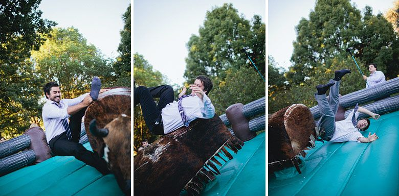 toro mecanico boda divertida y original