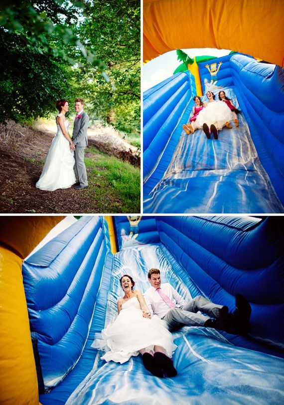 boda divertida castillo hinchable