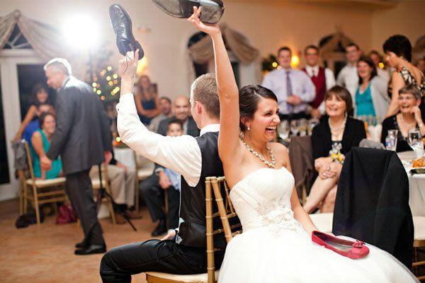 Juego del Zapato para vuestra boda