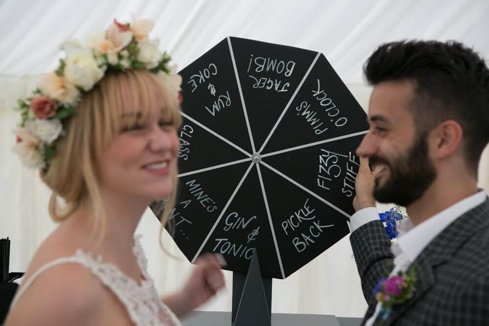 Un juego en vuestra boda: la ruleta
