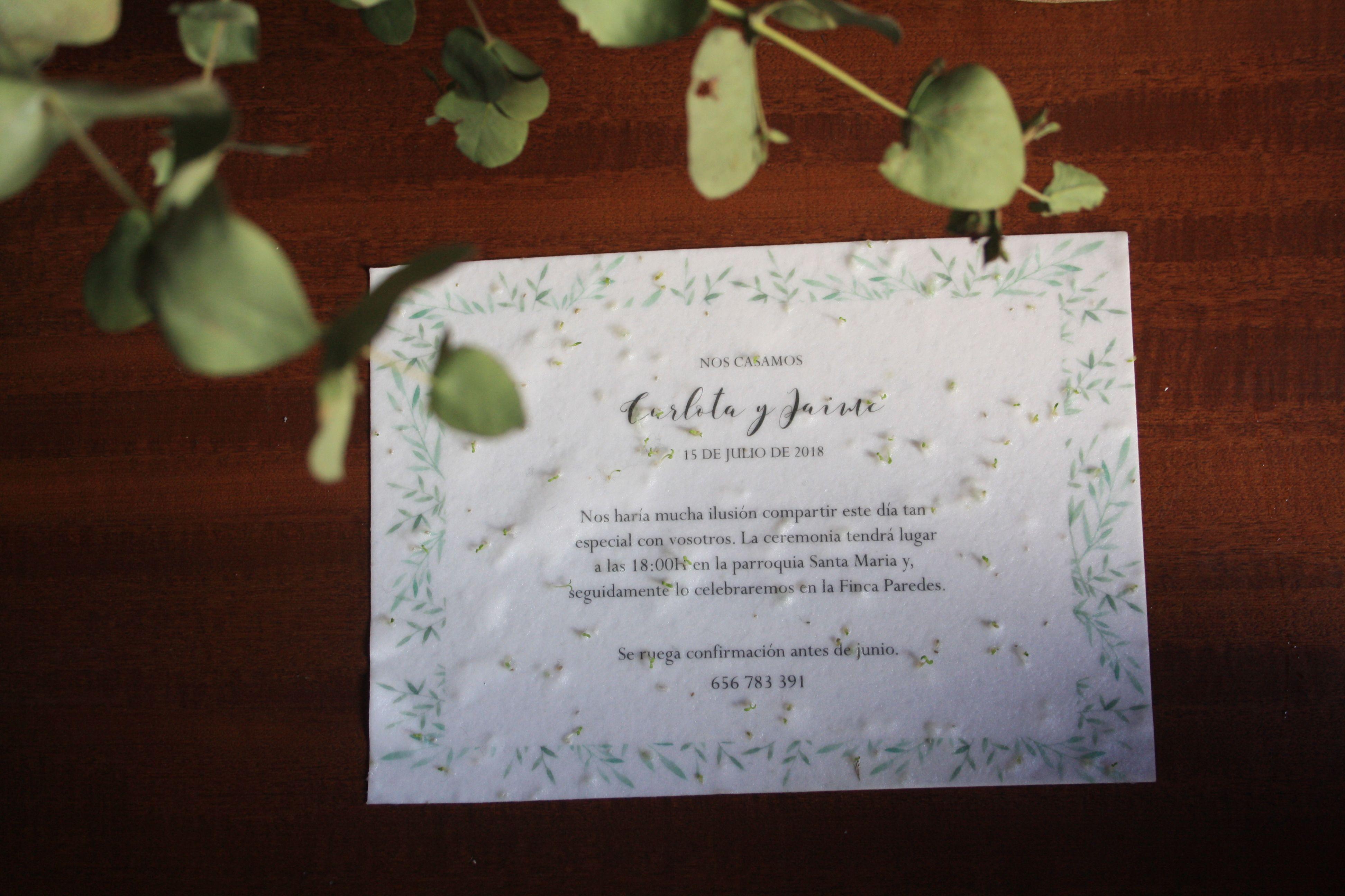 Invitaciones de boda que cobran vida