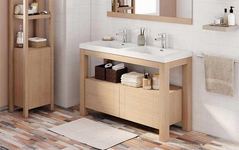 Instalar un mueble para el lavabo