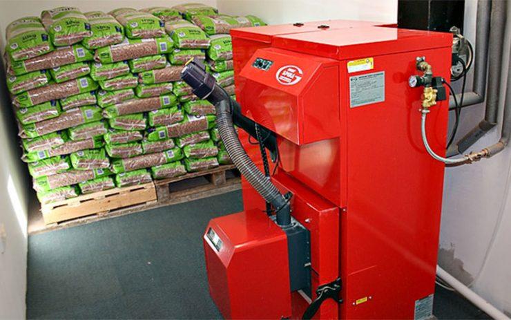 instalar caldera de biomasa