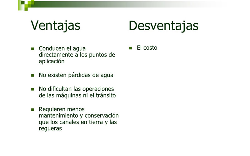 Ventajas y desventajas de tuber as pvc for Ventanas de pvc ventajas y desventajas