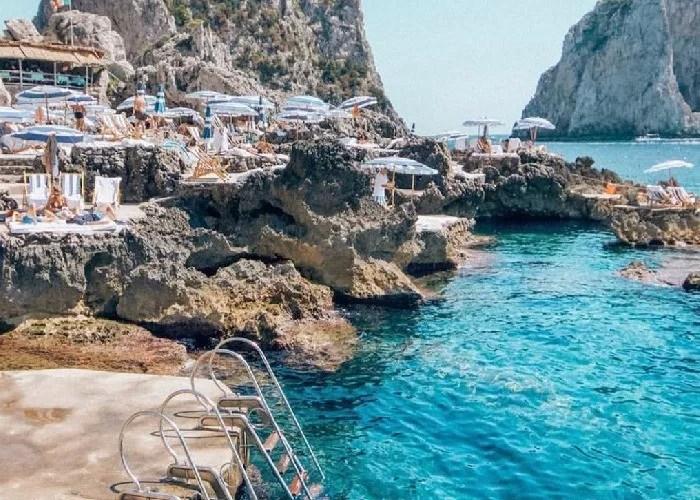 melhores praias da Italia Capri