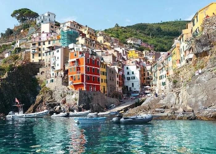 melhores praias da Italia Cinque terre