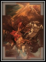 """Fall of Phaeton"" by Sebastiano Ricci (1703/1704)."