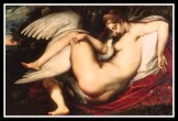 """Leda and the Swan"" by Peter Paul Rubens. (1598-1600)."