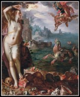 """Perseus and Andromeda"" by Georges Antoine Rochegrosse. 20th century."