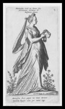 Mnemosyne by Johann Theodor de Bry. 16th century.