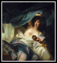 """Thalia"" (Muse of comedy and idyllic poetry) by Jean-Marc Nattier. 1738."