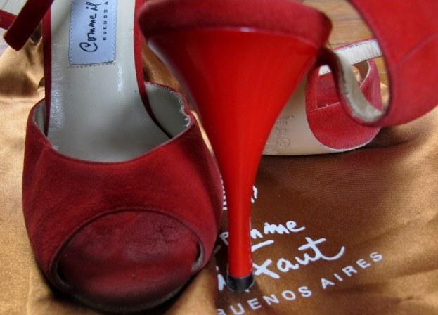 sapatos de tango