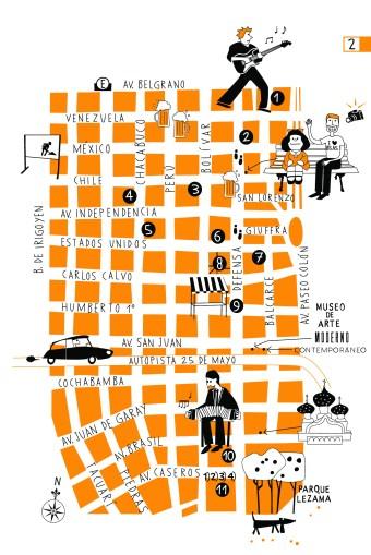 mapa san telmo