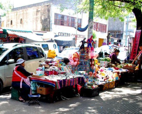 Mercado Boliviano de Liniers -Foto Gisele Teixeira