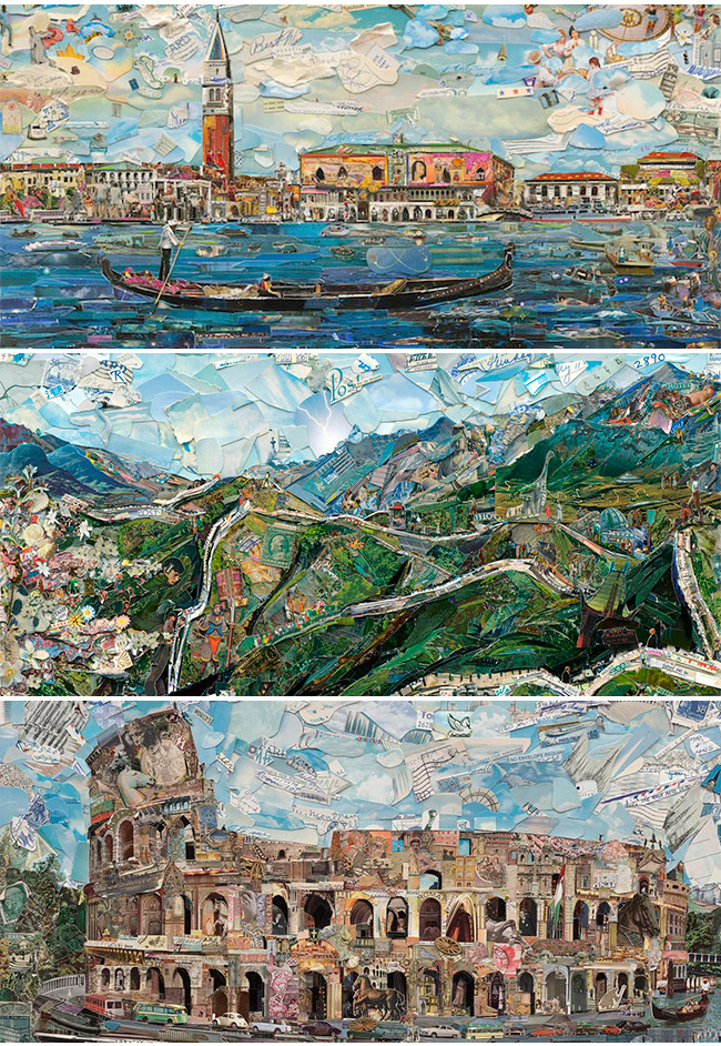 postcards from nowhere vik muniz em buenos aires