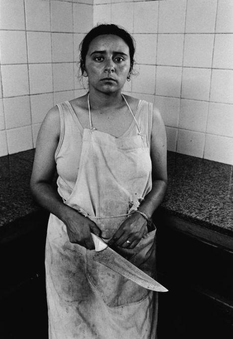 Mujeres presas con sus hijos. Adriana Lestido. Sala 41 do MNBA - Arte argentino de los '90