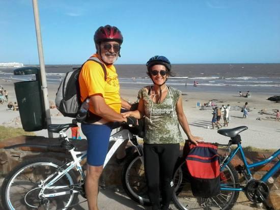 uruguai de bike foto gisele teixeira