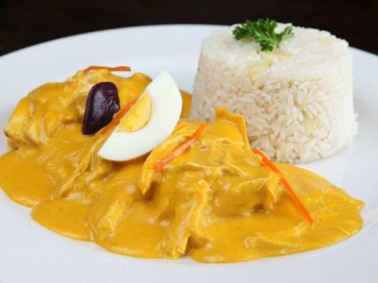 gastronomia lima aji de pollo