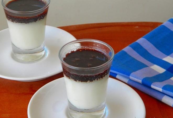 Flan de Maria Mole com Calda de chocolate