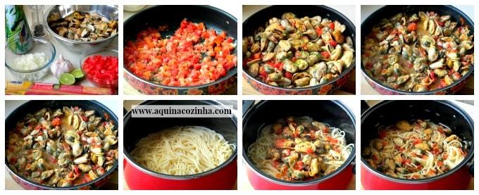 Espaguete ao vongole