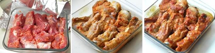 costelinha de porco no forno
