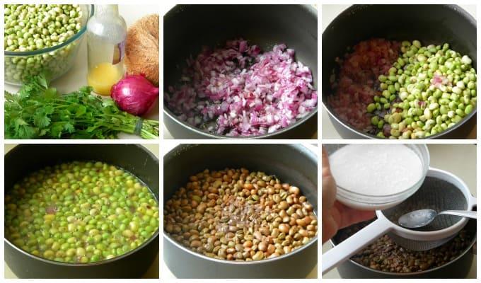 receita de Feijão verde com coco