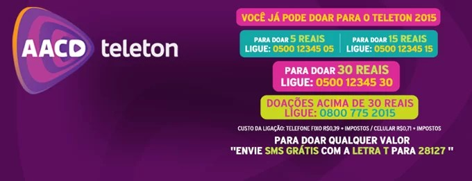 Estarei no Teleton