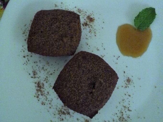 Bolo de Maça com açúcar de coco