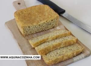 Pão de Castanha Low Carb