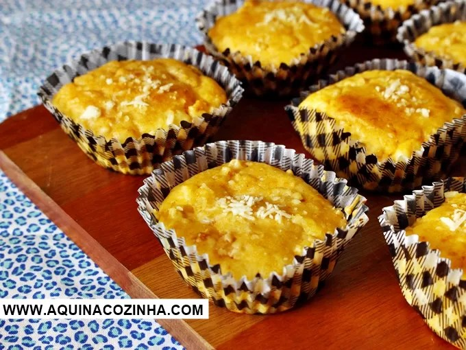 Muffin Salgado de frango
