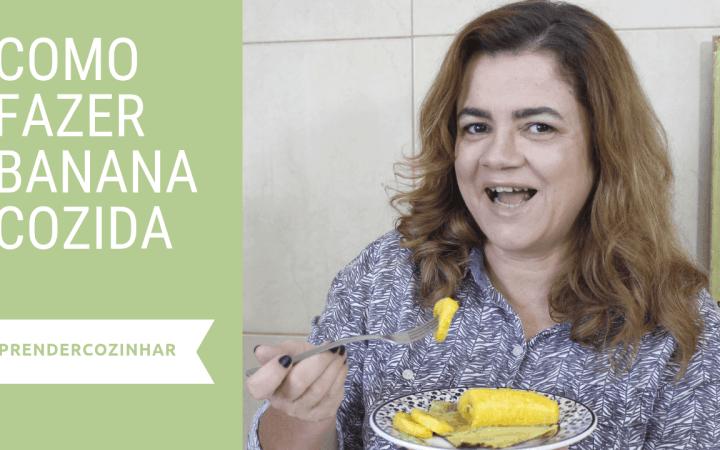 Banana cozida